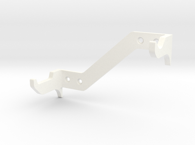 DL44 Wall Stand 2 in White Processed Versatile Plastic