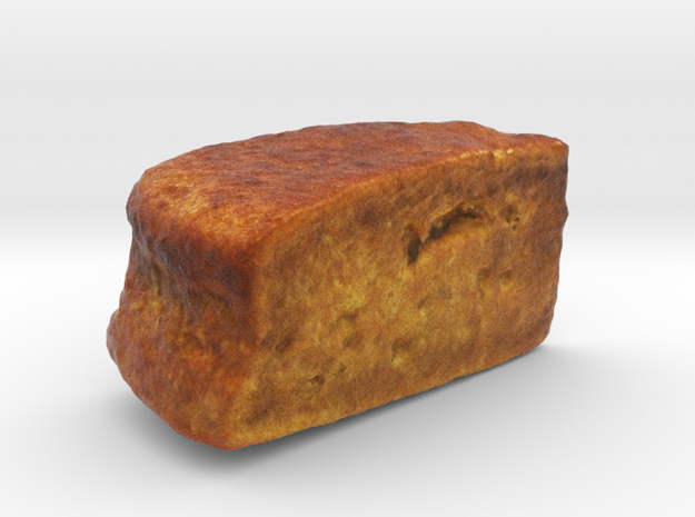 The Banana Cake in Full Color Sandstone