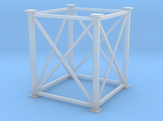 'HO Scale' - 8'x8'x10' Tower in Smooth Fine Detail Plastic