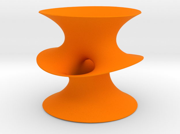Costa Surface (thin) in Orange Processed Versatile Plastic