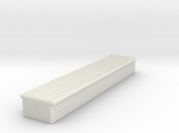 1/87 diamond plate storage box Medium in White Natural Versatile Plastic