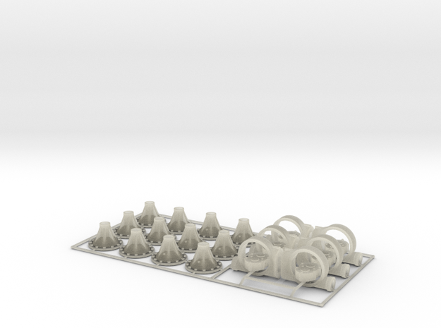 1/24 Quick Change 6 Pack 3d printed