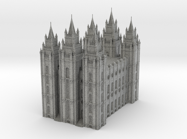 SLC LDS Temple in Metallic Plastic