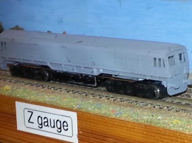 BR Class 66 - Z - 1:220 in Smooth Fine Detail Plastic
