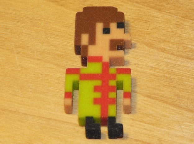 Beatles John iotacon (Sgt. Pepper) in Full Color Sandstone