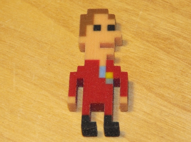 MST3K Joel iotacon in Full Color Sandstone