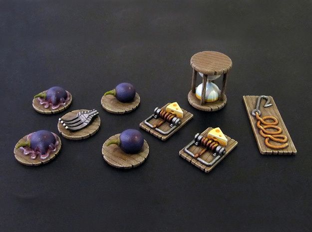 M&M Tokens (9 pcs) - Mice & Mystics