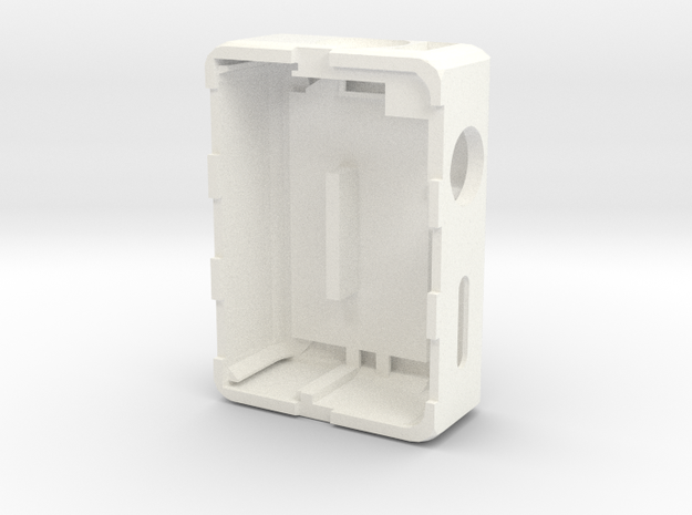 MARK v3 Body (Fire 16mm - 7.5mm Tactile Switch) in White Processed Versatile Plastic