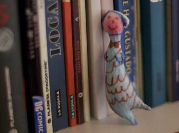 Mermaid 3d printed Figurines from Children's Drawings