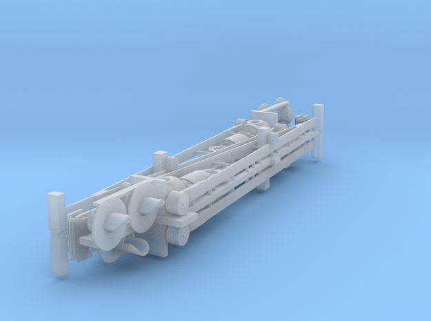 HO: Swedish - ASSA lattice barrier  in Smooth Fine Detail Plastic