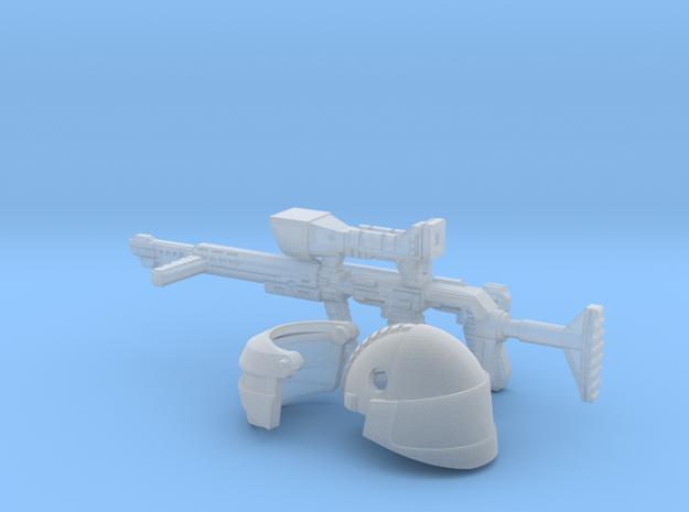 1:18 sci-fi Shock Trooper Kit in Smooth Fine Detail Plastic