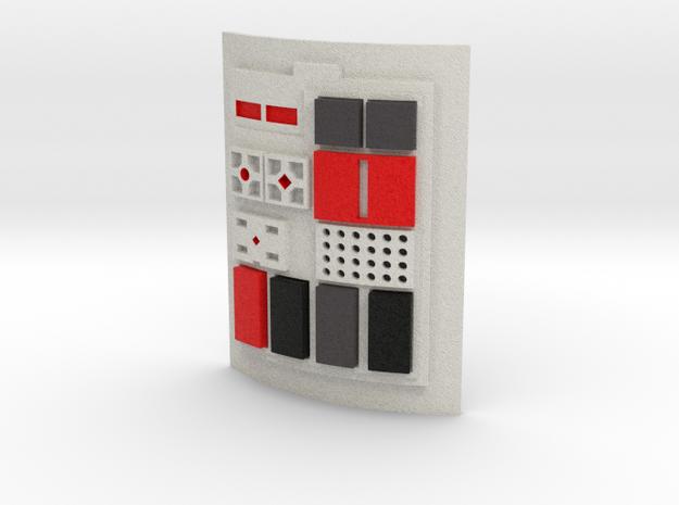 Comm pad - X2 in Full Color Sandstone