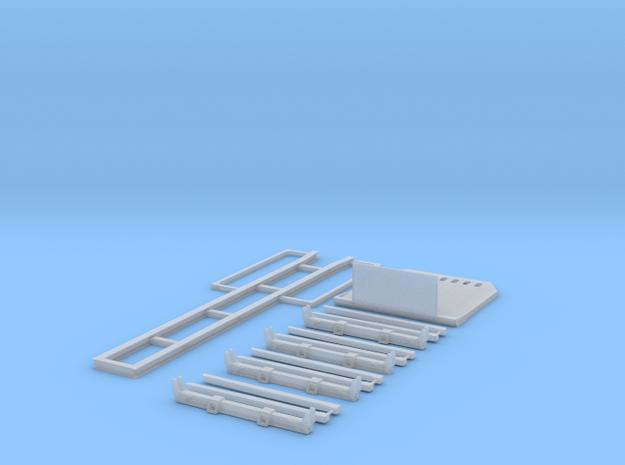 1/87 Kurzholztransporter Zugmaschinenaufbau lang I 3d printed