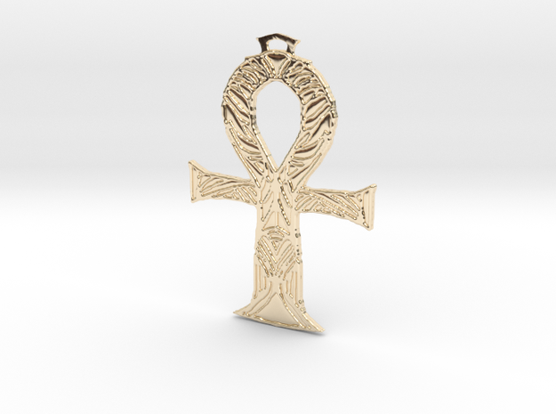 ANKH - 2 in 14K Yellow Gold