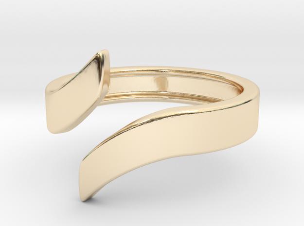 Open Design Ring (21mm / 0.82inch inner diameter) in 14K Yellow Gold