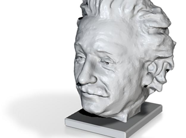 Albert Einstein Mini Bust 3d printed