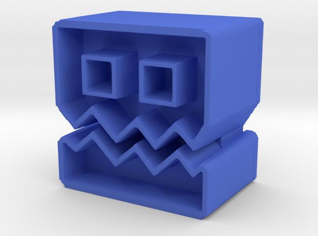 Icon #44 in Blue Processed Versatile Plastic