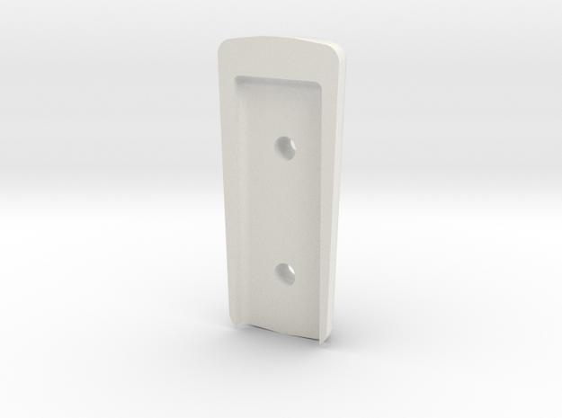 Spitfire Throttle Bottom Of Bakelite Handle in White Natural Versatile Plastic