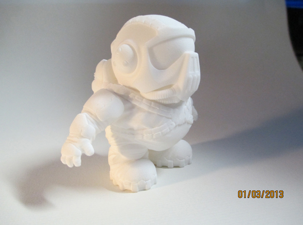 Super Short Shock Trooper 3d printed