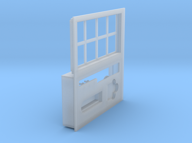 SIGUENZA STREET WINDOW AND FOUNTAIN PARTS FOR PRIN in Smooth Fine Detail Plastic