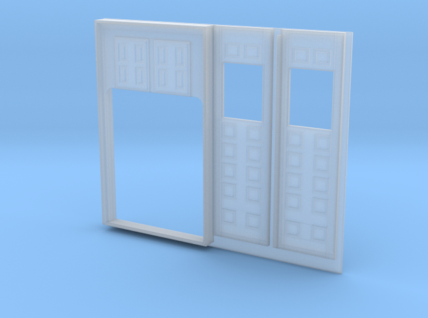 SIGUENZA BALCONY DOOR-1 PARTS FOR PRINTING in Frosted Ultra Detail