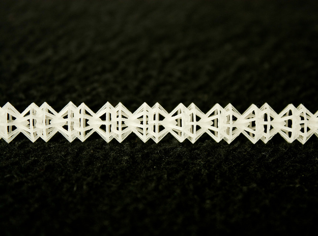 Diamond Necklace 3d printed