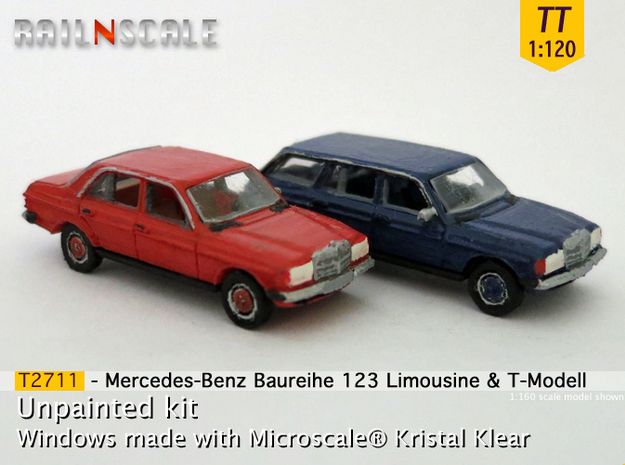 SET 2x Mercedes-Benz W123 (TT 1:120)
