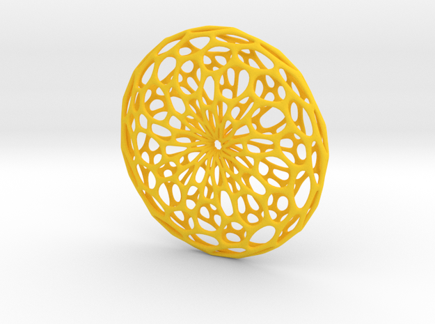 Cellular Pendant 3d printed