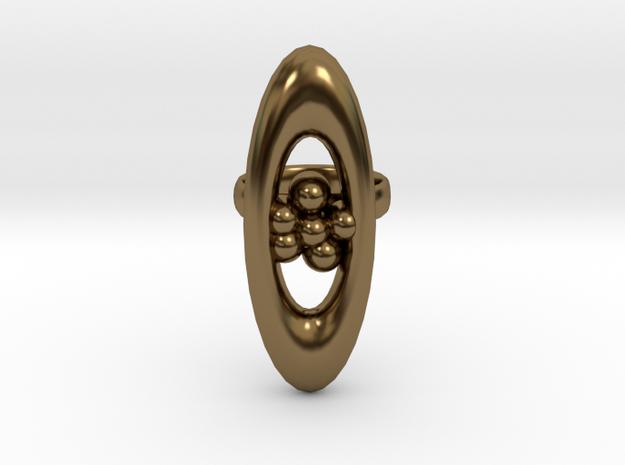 Ring Based On One I Made On Website Called Jweel in Polished Bronze