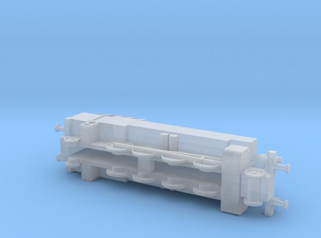 Steam Loco / Dampflok 1/285 6mm 3d printed
