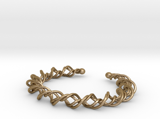 Helix Helix 1ct in Polished Gold Steel