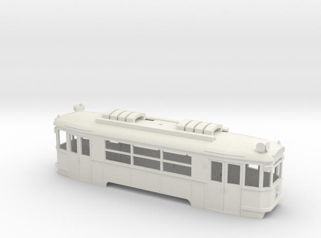 B Wiener Linien Triebwagen Gehäuse in White Natural Versatile Plastic