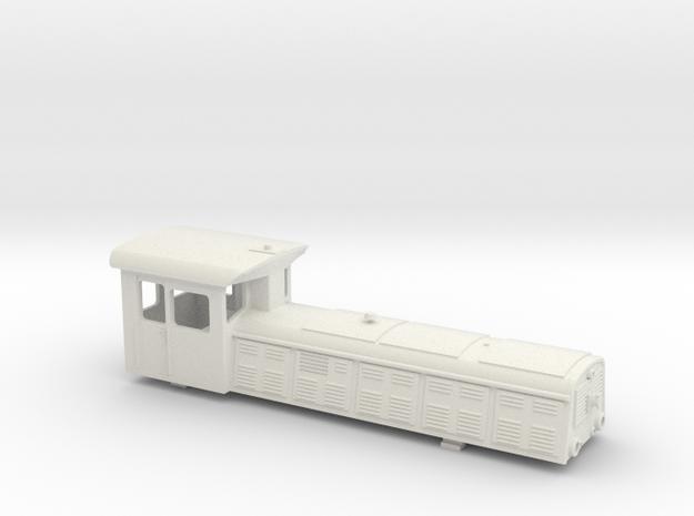 UDZ U-Bahn Diesel Lok Wien Gehäuse in White Natural Versatile Plastic