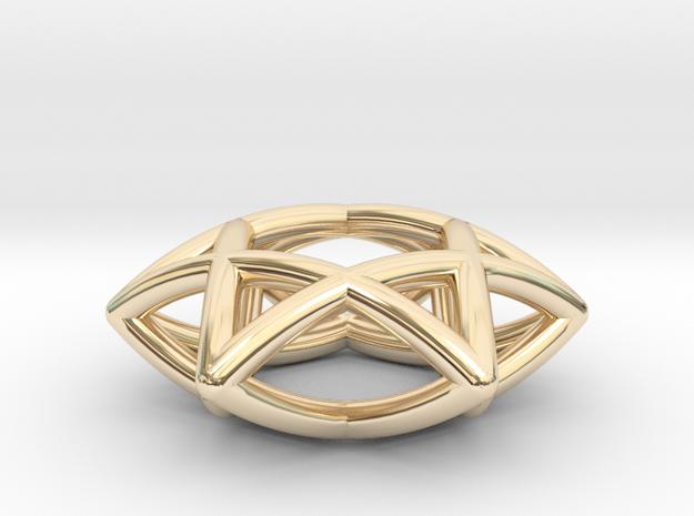 Star Of David Pendant 3d printed