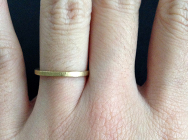 Minimalist Spacer Ring (just under 2mm) Size 5