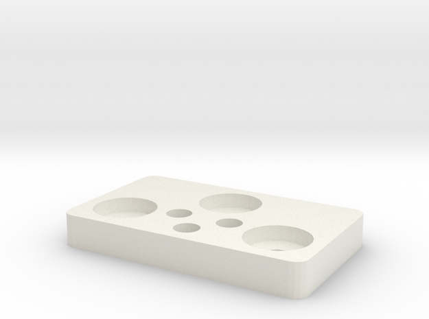 RBA Stand in White Natural Versatile Plastic