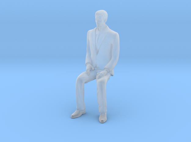 Man Sitting 16th in Frosted Ultra Detail