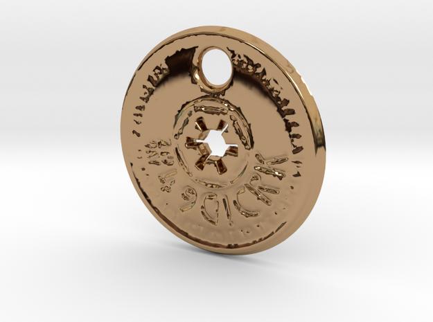 ZWOOKY Style 151  -  Holo in Polished Brass