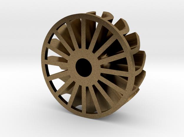 "1"" Turbine Kit 3/3 - Brass insert"