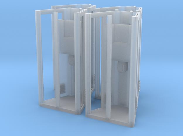4x KPN telefooncel HO in Smooth Fine Detail Plastic