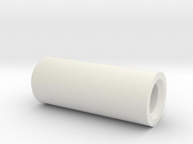 Driveshaft Bushing in White Natural Versatile Plastic