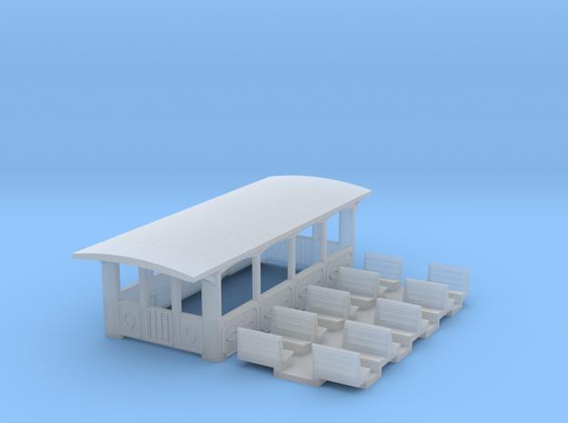 Aussichtswagen (N 1:160) 3d printed