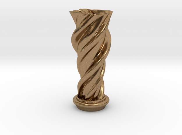 """Vase 'Mini Anuya' - 5cm / 2"""" in Natural Brass"""