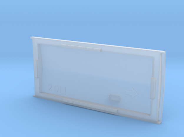 HOn30 Bandai Boxcab PEAKED roof 3d printed