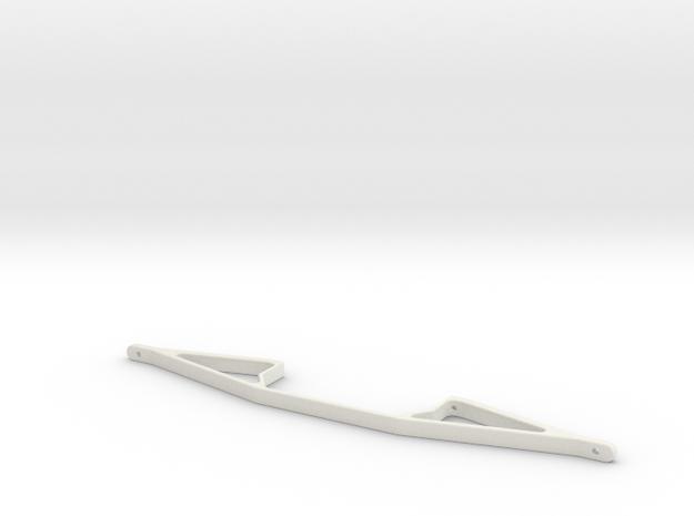 Motorbock2STL in White Natural Versatile Plastic