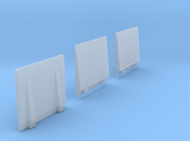 Ladeboardwand Für Sprinter/CRAFTER  2,45cm X 2cm H in Smooth Fine Detail Plastic
