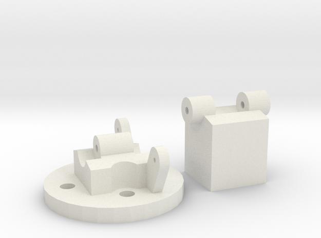 StickMountV3 in White Natural Versatile Plastic