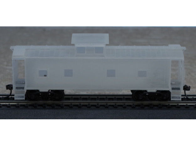 ACL M5 Caboose - HO in Smooth Fine Detail Plastic