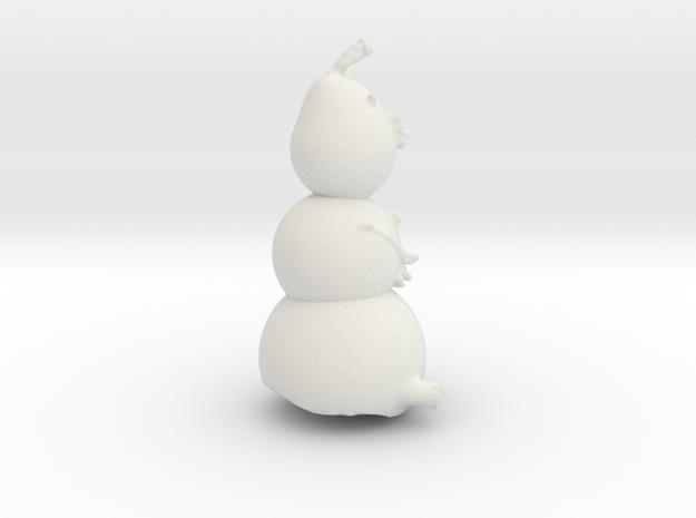 Olaf in White Natural Versatile Plastic