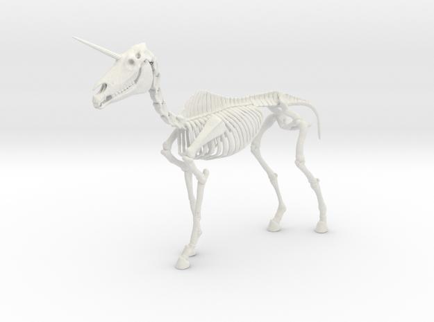 Unicorn Skeleton 3d printed